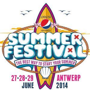 Yves V - Live @ SummerFestival Antwerp (Belgium) 2014.06.28.