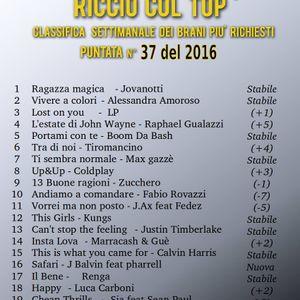 RICCIO COL TOP 11 SETTEMBRE 2016