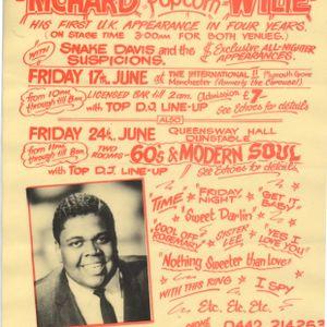 "Richard ""Popcorn"" Wylie 17th June 1988 Manchester International One"