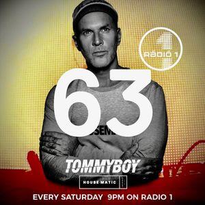 Tommyboy Housematic on Radio 1 (2019-09-07) R1HM63