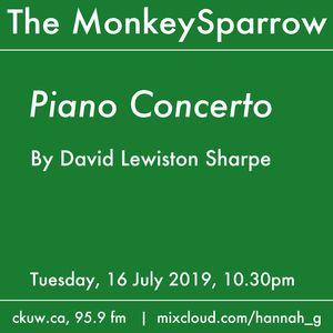 A concerto by David Lewiston Sharpe
