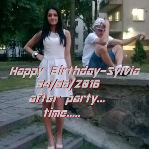 Happy Birthday... Sylwia-after party 04.06.2016.