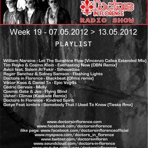 WEEK 19 2012 - DOCTORS IN FLORENCE - DOCTORS IN PROGRESS