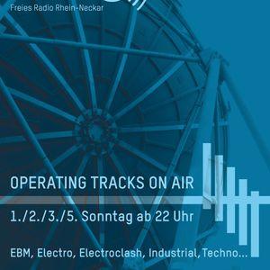 "01.05.16 ""Operating Tracks On Air!"" - Radioshow"