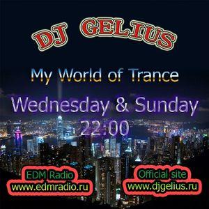 DJ GELIUS - My World of Trance #264 (15.01.2014) MWOT 264
