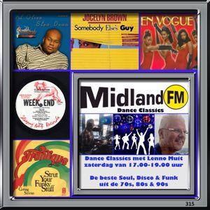 Midland Dance Classics #315, 17 oktober 2015 - Midland FM