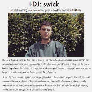 Swick Mix for i-D Magazine March 2015