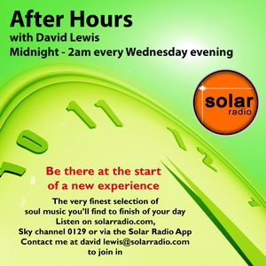 After Hours with David Lewis on Solar Radio 30-04-15