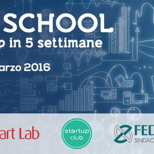 Radio Stonata. Crowdfunding. rubrica. Startupclub. 10.02.2016. Unicredit Startlab. Startup School.