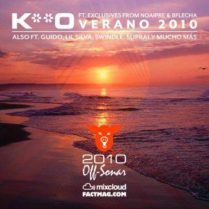 K**O - VERANO 2010 - Plat du Jour Off-Sonar