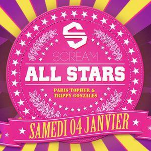 T&T (Paris'Topher vs Trippy Gonzales) Live @ Scream All Stars 04-01-2014
