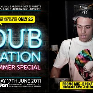 Dub Nation - Drum and Bass Promo Mix - DJ Skatman B