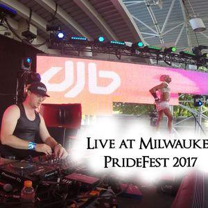 DJB Live at Milwaukee PrideFest 2017