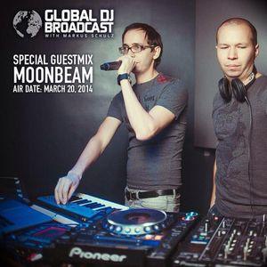 Moonbeam Guest Mix @ Global DJ Broadcast by Markus Schulz (20.03.2014)