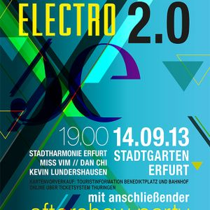 14.09.13 Symphonical Electro Afterparty Ping Pong Set mit Kevin Lundershausen, Miss Vim & Dan Chi