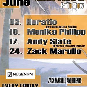 Zack Marullo @ Audio Control Radio Show (2011.06.24.)