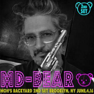 Moh's Backyard 2nd Set Brooklyn, NY June, 4, 2016