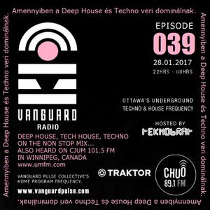 VANGUARD RADIO Episode 039 with TEKNOBRAT - 2017-01-28th CHUO 89.1 FM Ottawa, CANADA