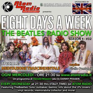 Eight Days A Week / season 4 - #32 (19.06.2019) SPECIALE MEDITAZIONE TRASCENDENTALE