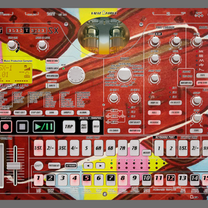 hardware set with electribe tr8 volca bass