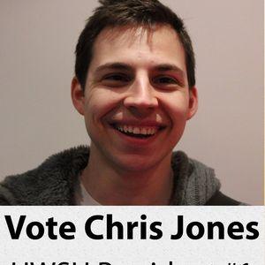 SU Elections - Chris Jones