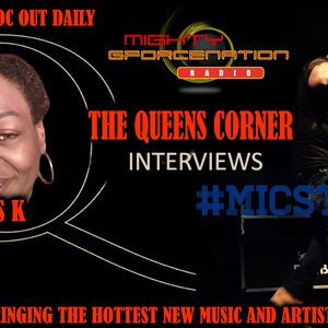 THE QUEENS CORNER WITH MS K INTERVIEWS HARLEM RAPPER MICROPHONE STRONG ON  MIGHTY G FORCE RADIO