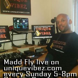 Madd Fly Reggae Sunday Show 6 March 2016 on www.uniquevibez.com