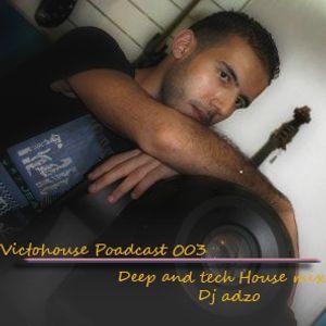 Dj Adzo - Deep and Tech house mix, feel the beat