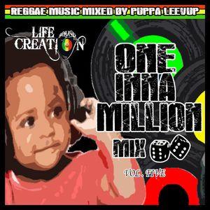 One inna million reggae mix Volume Five