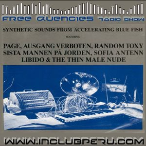 Synthetic Sounds from Accelerating Blue Fish