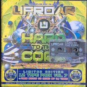 DJ Faydz Live @ Uproar - Hard To The Core (2005)