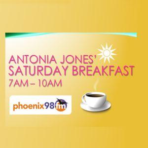 Antonia Jones' Saturday Breakfast Show (Phoenix FM) 26 March 2016