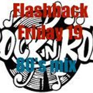 Flashback Friday 19 80's Rock n Roll