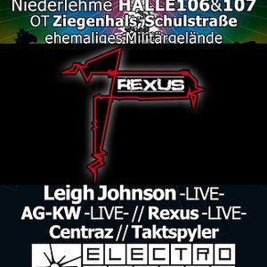 Rexus live & DJ-Set @ Electrofunken Niederlehme 10.12.11