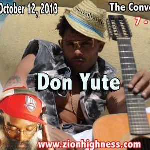The  Conversation  With  Icebox International  &  Don Yute on Zionhihgness  Radio
