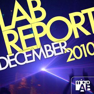 Lab Report December 2010