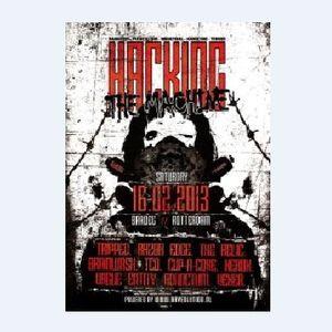 Brainwash - Live recorded @ Hacking The Machine (@Baroeg Rotterdam by www.rave-o-lution.nl)