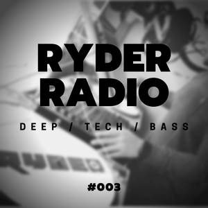 Ryder Radio #003 // House, Tech House // Guest Mix from Ian Randall