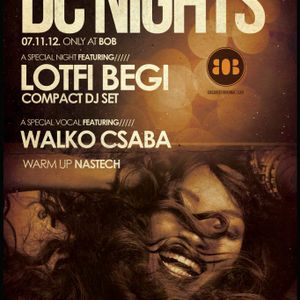 Nastech - Disco Cube Nights [November 07 2012] @ BoB