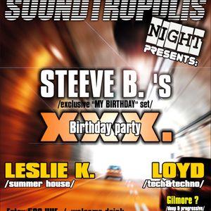 STEEVE B.-My XXX. Birthday  (classic mix 1998- 2008) part 1.