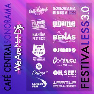 FestivaLess 3.0. Sonorama Ribera / Café Central