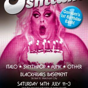 Osmium First Birthday Mix!