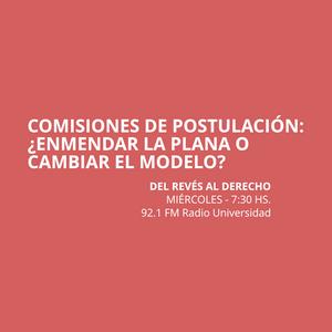 13 AGO 2014 - Comisiones de postulación:  ¿enmendar la plana o cambiar el modelo?