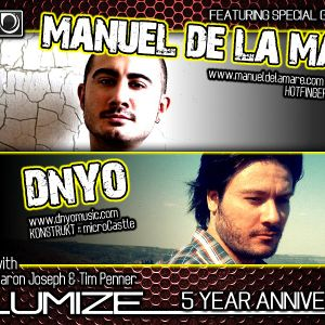 DNYO - Volumize Podcast 5 Yeah Anniversary Guest Mix
