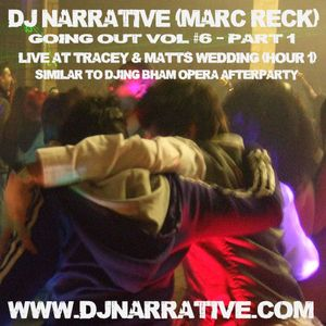 Going Out Vol #6 - Pt 1 - Matt & Tracey's Wedding Hour 1 (Funk, Soul, Electro Swing & Balkan)