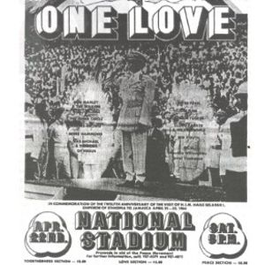 One Love Peace Concert 1978 - Dennis Brown, Trinity