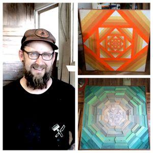 #23  Aaron Michalovic - Wood Artist