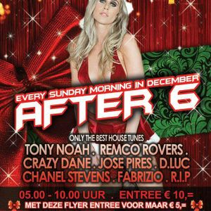 DJ R.I.P live at After 6 8-12-2013