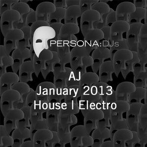 AJ - January 2013 - House/Electro