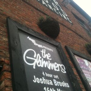 The Glimmers @ Hairbrain, Joshua Brooks, Manchester 16 May 2015